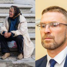 L. Kukuraitis: be rimtų finansinių injekcijų skurdo sumažinti nepavyks