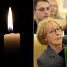 Mirė ilgametė LRT radijo bendradarbė Varšuvoje N. Druto