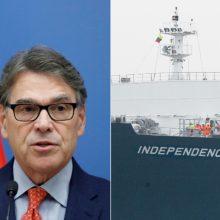 R. Perry: JAV dujos Europai atneša daugiau laisvės ir konkurencijos