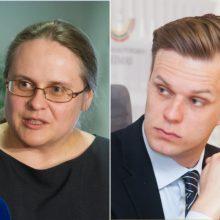 Komisijai nesulaukus ir G. Landsbergio, A. Širinskienė užsirūstino