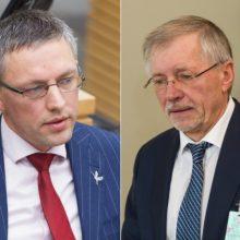 V. Baką supykdė G. Kirkilo perkėlimas į NSGK: jis – oligarchų atstovas
