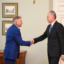 G. Nausėda tikisi, kad J. Narkevičius atstovaus šaliai, o ne lenkų mažumai