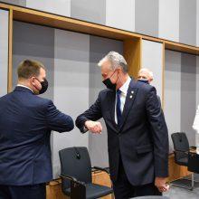 G. Nausėda tikisi, kad ES sutars dėl sankcijų Baltarusijos režimui