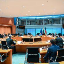 G. Nausėda susitiko su A. Merkel: aptarė migracijos, saugumo klausimus