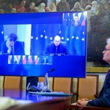 G. Nausėda ragino ES vadovus laikytis griežtos pozicijos Rusijos atžvilgiu