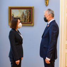 Prezidentūra: Baltijos šalys sankcijas pritaikys dar 118 Baltarusijos režimo atstovų