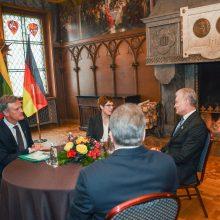 G. Nausėda Vokietiją vadina patikima Lietuvos gynybos partnere