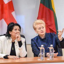 Gruzija jungsis prie Kaune steigiamo Kibernetinio saugumo centro veiklos