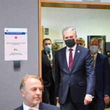 G. Nausėda: situacija Baltarusijoje nesikeičia, Europa turi svarstyti sankcijas