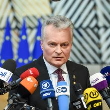 G. Nausėda prašys ES finansinės paramos įgyvendinti klimato tikslams