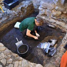 Valdovų rūmų muziejuje – ne tik eksponatai, bet ir archeologiniai tyrimai