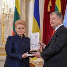 D. Grybauskaitė: Lietuva perduos Ukrainai šovinių, siųs daugiau instruktorių