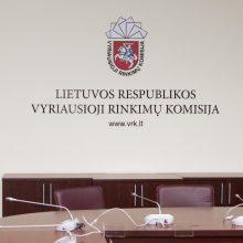 Savivaldos rinkimų dalyviai atgaus 1 mln. eurų užstatų