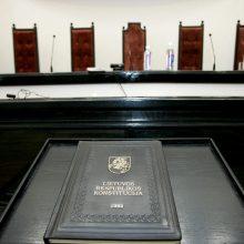 Konstitucinis Teismas pradės bylą dėl Fizinių asmenų bankroto įstatymo