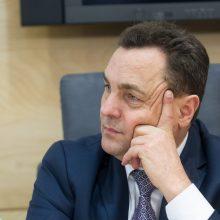 Ar Seimas panaikins P. Gražulio neliečiamybę?