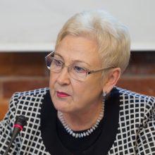 G. Nausėdos vietoje I. Degutienė atsisakytų gydytojo R. Žaliūno paslaugų