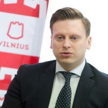 Vilniaus vicemeras V. Benkunskas: grasinimų nebijau – voratinklį išnarpliosime