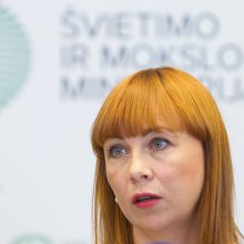 Švietimo ministrei gresia interpeliacija – jau surinkti parašai