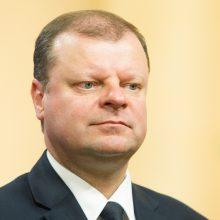 S. Skvernelis siūlo susiaurinti politikų, teisėjų neliečiamybę