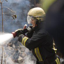 Druskininkų savivaldybės teritorijoje dėl gaisro iš namo evakuoti gyventojai