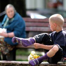 Pernai Lietuvoje mažiau žmonių gyveno žemiau skurdo ribos