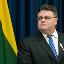 Ministras: Rusijos planai švęsti Vilniaus ir Kauno užėmimą – nepriimtini
