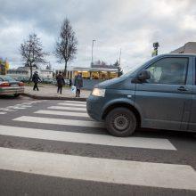 Vilniuje partrenktas per perėją ėjęs vaikas, kaltininkė nuvažiavo