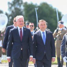 Žalgirio mūšio metinės: Lietuvos ir Lenkijos vadovai priminė nesaugią kaimynystę