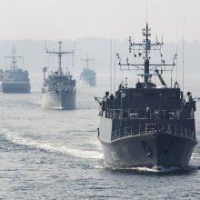 Į Klaipėdą atplaukia trys NATO priešmininiai laivai