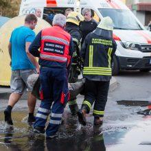 Vilniečio pietūs baigėsi ligoninėje: iš uždūminto buto vadavo ugniagesiai