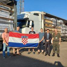 Pagalbos ranką tiesia kroatai – Lietuvą pasiekė humanitarinė siunta