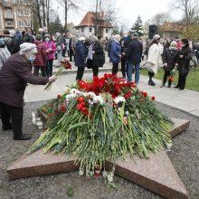 Pergalės dienos šventimas Klaipėdoje patiko ne visiems