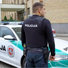Policininkų saugumui – 4 tūkst. neperšaunamų liemenių