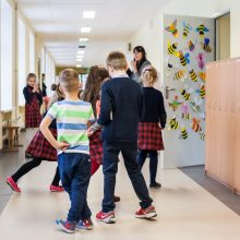 Vienoje Šiaulių mokyklų pamokos jau vyksta nuotoliniu būdu