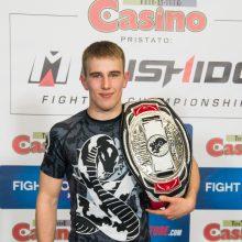 Aštuoniolikmetis narvo didvyris – Baltijos šalių PRO čempionas