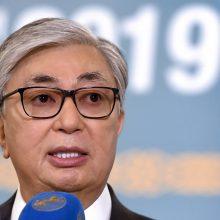 Kazachstanas prezidentu išsirinko N. Nazarbajevo nominuotą šalies įpėdinį