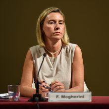 F. Mogherini: ES nusiteikusi palaikyti Ukrainą ir jos reformų programą