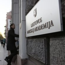 Vilniuje nuo Mokslų akademijos pastato nuimta J. Noreikos atminimo lenta
