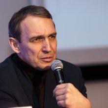 Prezidentų debatams neįpusėjus, A. Juozaitis paliko salę: LRT apkaltino korupcija