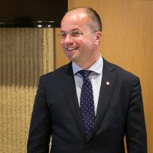 """MG Baltic"" byla: LSMU rektorius neslepia susitikdavęs su R. Kurlianskiu"