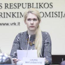 Pareiškinius dokumentus Seimo rinkimams VRK pristatė 20 partijų