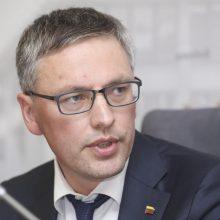 """V. Bakas nesutinka, kad padarė žalą koncernui """"MG Baltic"""""""