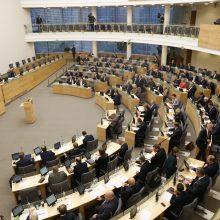 Seime – dar vienas siūlymas nerengti naujų rinkimų