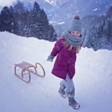Orai malonūs nebus: draskysis vėjas, pasirodys šlapdriba ir sniegas