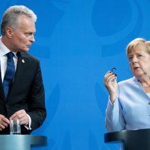 Prezidentas G. Nausėda vyks darbo vizito į Vokietiją