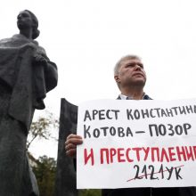 Iššūkį valdžiai metanti Rusijos opozicija rengia naujus protestus