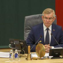 Opozicija neatmeta, kad gali palaikyti interpeliaciją V. Pranckiečiui