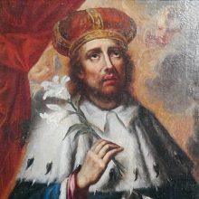 Dovana arkivyskupijai – Lietuvos globėjo Šv. Kazimiero paveikslas