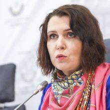 """D. Šakalienė apie R. Žemaitaičio atstatydinimą: eilinė """"valstiečių"""" vendeta"""