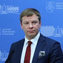 V. Šapoka: švietimui reikia reformos, ne akcijų prieš biudžeto priėmimą